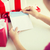 envelope · carta · vermelho · papel · alegre · natal - foto stock © dolgachov