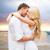 романтические · медовый · месяц · пару · любви · пляж · закат - Сток-фото © dolgachov