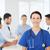 mutlu · doktor · grup · hastane · klinik · meslek - stok fotoğraf © dolgachov
