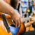 gitarist · adam · oynama · klasik · gitar - stok fotoğraf © dolgachov