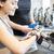 vrouw · horloge · gymnasium · sport · fitness - stockfoto © dolgachov