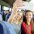 vrienden · auto · smartphone · weg · reis - stockfoto © dolgachov