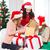 kadın · yardımcı · çok · hediye · kutuları - stok fotoğraf © dolgachov