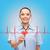 gülen · kadın · doktor · hemşire · kalp · sağlık - stok fotoğraf © dolgachov