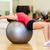 genç · kadın · egzersiz · top · mutlu · spor · salonu - stok fotoğraf © dolgachov