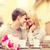 casal · flores · cidade · verão · férias · amor - foto stock © dolgachov