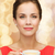 gülümseyen · kadın · kırmızı · kahve · fincanı · portre · oturma - stok fotoğraf © dolgachov
