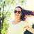 güzel · kadın · güneş · gözlüğü · moda - stok fotoğraf © dolgachov