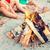 barátok · tábortűz · férfi · női · vakáció · férfi - stock fotó © dolgachov