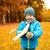 oyuncak · uçak · açık · havada · gülen · çocuklar - stok fotoğraf © dolgachov