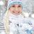 mulher · jovem · inverno · roupa · frio · isolado · preto - foto stock © dolgachov