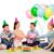 partij · meisje · ballonnen · geschenkdoos · gelukkig · vrouw - stockfoto © dolgachov