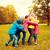 szczęśliwy · dzieci · uśmiechnięty · grupy - zdjęcia stock © dolgachov