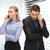 man · vrouw · mobiele · telefoons · foto · business · wereld - stockfoto © dolgachov