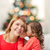 sorridente · mãe · filha · fofoca · família - foto stock © dolgachov