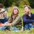 zingen · vrienden · portret · jongens · meisjes · partij - stockfoto © dolgachov