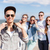zonnebril · vrienden · buiten · zomer · vakantie - stockfoto © dolgachov