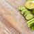 közelkép · friss · zöld · dzsúz · üveg · zeller - stock fotó © dolgachov
