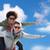 gelukkig · paar · Big · Ben · toren - stockfoto © dolgachov