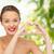 glimlachend · jonge · vrouw · tonen · hartvorm · handteken · schoonheid - stockfoto © dolgachov