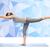 kobieta · jogi · wojownika · stanowią · fitness - zdjęcia stock © dolgachov