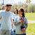 grupo · voluntarios · árboles · rastrillo · parque · voluntariado - foto stock © dolgachov