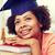 幸せ · アフリカ · 学士 · 少女 · 図書 · ホーム - ストックフォト © dolgachov