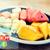 新鮮な · おいしい · 食品 · 背景 · オレンジ · 緑 - ストックフォト © dolgachov