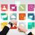 smart · horloge · toepassing · iconen · moderne - stockfoto © dolgachov
