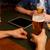 Männer · trinken · Bier · bar · Veröffentlichung - stock foto © dolgachov