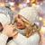 предполагать · молодые · счастливым · четыре · друзей · торговых - Сток-фото © dolgachov
