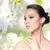 luxus · pompás · nő · gyémánt · fülbevalók · divat - stock fotó © dolgachov