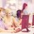 students with computer monitor at school stock photo © dolgachov