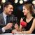 пару · питьевой · закрывается · вино · ресторан · улыбка - Сток-фото © dolgachov