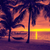 függőágy · pálmafák · trópusi · üres · kettő · tengerpart - stock fotó © dolgachov
