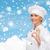 kucharz · podpisania · kobieta · gotować · pusty - zdjęcia stock © dolgachov