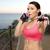 asiático · personal · trainer · assobiar · esportes · fitness · saúde - foto stock © dolgachov