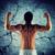 молодым · человеком · бицепс · мышцы · спорт - Сток-фото © dolgachov