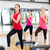 uygunluk · sınıf · adım · aerobik · egzersiz · yandan · görünüş - stok fotoğraf © dolgachov