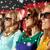 csoport · mosolyog · emberek · néz · film · mozi - stock fotó © dolgachov