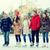 счастливым · друзей · катание · на · коньках · улице · люди - Сток-фото © dolgachov