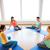 gelukkig · zwangere · vrouwen · vergadering · gymnasium · zwangerschap - stockfoto © dolgachov