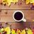 чай · листьев · красное · яблоко · изображение · Vintage - Сток-фото © dolgachov