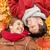 familia · hojas · de · otoño · parque · hombre · madre · otono - foto stock © dolgachov