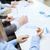 handen · zakenlieden · werken · grafieken · teamwerk · pen - stockfoto © dolgachov
