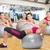 pessoas · do · grupo · flexões · exercer · mulher · esportes - foto stock © dolgachov