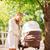 boldog · anya · gyermek · nyár · park · család - stock fotó © dolgachov