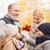 счастливым · молодые · матери · дочь · осень · парка - Сток-фото © dolgachov