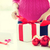 close up of woman decorating christmas presents stock photo © dolgachov