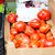 oxheart tomatoes in box at street market stock photo © dolgachov